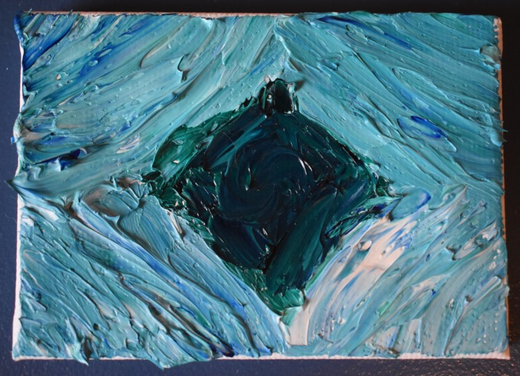 Heart of Water Miniature
