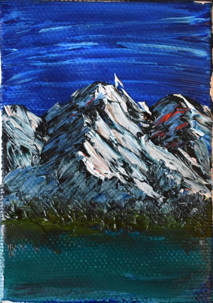 Mountain Lake Miniature.JPG