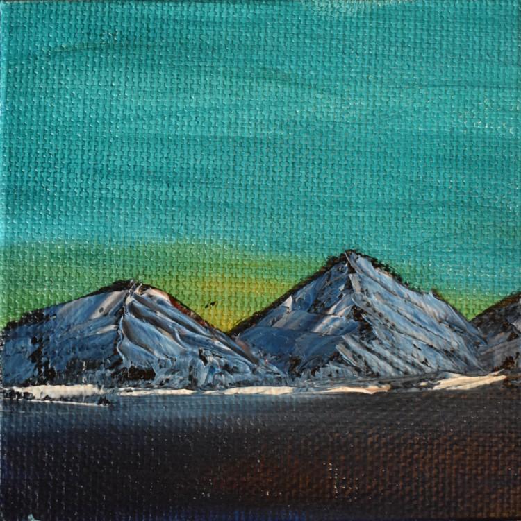 Mountain Twilight Miniature