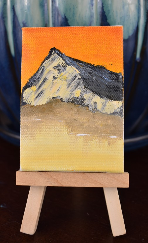 Orange Sky Miniature