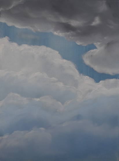 Clouds I Oil on Canvas 12x16 inches